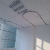 河北凯茂安装房顶输液导轨 铝合金尺寸样式定制