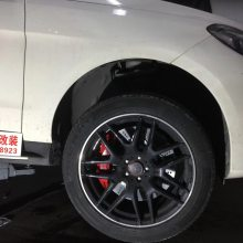 [深圳刹车卡钳改装]奔驰GLE400升级AMG大六AP布雷博Brembo鲍鱼ALCON刹车改装批发