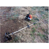 大马力锄草机 背负式软管割草机 汽油割灌机