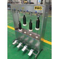 半自动啤酒玻璃瓶灌装机