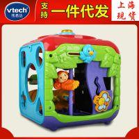 伟易达双语早教学习字母音乐趣味智立方宝宝游戏台琴键玩具套装