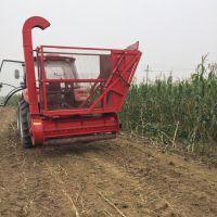 青储粉碎苞米杆粉碎回收机 自卸式料框收获机