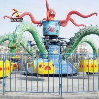 造型生动大章鱼游乐园新型儿童游乐设备