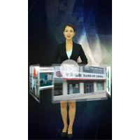 武汉迈吉克多媒体互动3D全息婚纱 梦幻大裙摆 全息投影0115