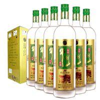 北京牛栏山二锅头土豪金珍品陈酿20二十年1L白酒52度1000ML*6瓶