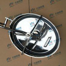 供应不锈钢卫生级内开椭圆YAC430X330椭圆人孔厂家
