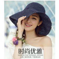 新款女士遮阳帽 夏季 帽子,5元模式,十元模式,展会地摊