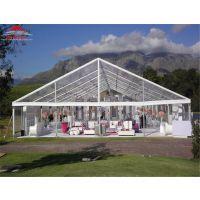 欧式晚会宴会婚礼篷房 大型商业铝合金展览帐篷定制 广州篷房厂家