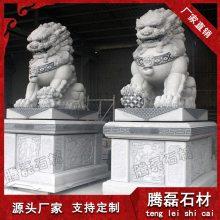 狮子石雕多少钱 石雕狮子图片 腾磊