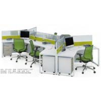 简约大气职员办公桌4人屏风位6人屏风位现代办公电脑桌厂家直销