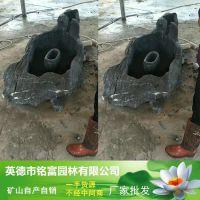太湖石鱼缸定做 太湖石盆景鱼池茶几 厂家价格实惠