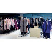 洛米唯娅北京大柳树尾货批发市场怎么样 深圳折扣女装加盟尾货紫色小西装
