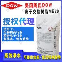 中国区代理 美国罗门哈斯 MB20 电子厂污水过滤 抛光树脂 陶氏DOW