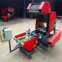 安装简单饲料打捆机 使用操作方法青贮包膜机