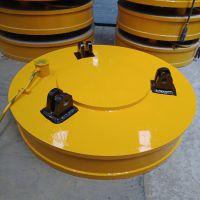 专业制造澳尔新牌电磁吸盘 MW5-165L/1型圆形起重机吸盘