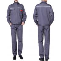 秋冬加厚工作服套装男长袖电焊服建筑工地施工队工作服