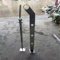 热销304不锈钢立柱扶手 工程304/316不锈钢栏杆 楼梯立柱定制