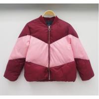 冬季新款童装棉服加厚拼色儿童棉衣 外贸批发