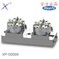 POFI夹具 2头快速定位工装夹具 CNC气动卡盘 兼容EROWA夹具