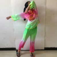 秧歌服装用品舞蹈服装腰鼓服装舞蹈衣三色过渡过度秧歌衣戏剧舞蹈