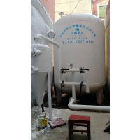 洗浴热水变黄浑浊怎么处理 井水 温泉热水除铁除锰过滤设备 井水处理设备