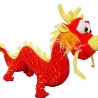 一件代发睿伊正版仿真龙毛绒玩具布娃娃中国龙公仔玩偶儿童礼物龙