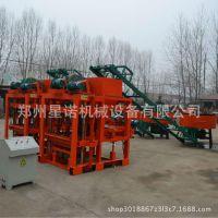 供应全自动砌块机 小型制砖机 免烧砖机设备