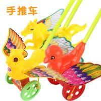 新款创意玩具宝宝卡通动物手推杆儿童礼物厂家热卖地摊夜市小礼品