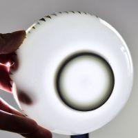 唯奥陶瓷厂家批发骨质瓷4.5寸米饭碗 几何奥碗家用瓷碗 可定制 加logo