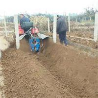 淌沟浇地开沟机 柿子园松土机 四轮开沟机价格