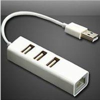 USB HUB 分线器平板电脑以太网外置有线网卡转换器转接头WIN8