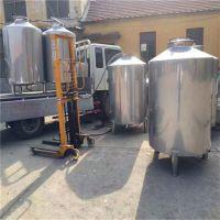 304不锈钢储酒罐 蒸酒冷却器做法 密封酒罐储存罐
