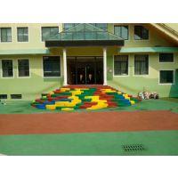 厂家供应幼儿园高难度图案价格/沧州台阶EPDM造型/5MM硅PU网球场地层面铺设