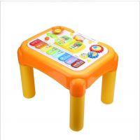 双语学习桌益智多功能学习台宝宝早教音乐游戏桌1-3-4岁宝宝玩具