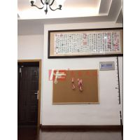 广州彩色原木软木板3