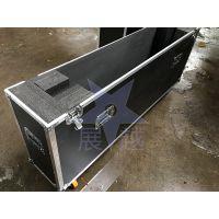 定做50/55/60/65寸一装一液晶电视航空箱电视包装箱防震显示屏箱 加厚海绵展越铝箱