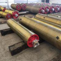 供应直径400*1700 双梁起重机卷筒组 钢板卷制卷筒组