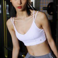 细肩带美背运动文胸防震聚拢定型健身内衣女BRA防瑜伽下垂背心