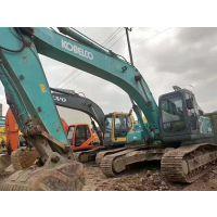 神钢中型二手挖掘机SK260-8超8履带式二手挖土机