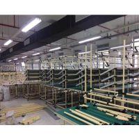精益管架子加工厂家 精益管货架批发定做 深圳精益管货架公司