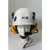 户外滑翔伞三角翼攀岩骑行安全防护头盔无线对讲安全帽摩托车通话头盔配件