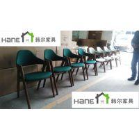 嘉定酒楼餐桌椅 海鲜餐厅桌椅定制 上海韩尔现代中式品牌