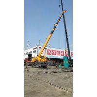 江苏汽车吊操作起重机 8吨汽车吊工作视频演练