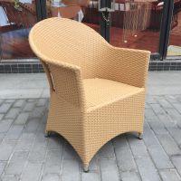 售楼部休闲编藤桌椅山业街纯手工桌椅三五件套桌椅
