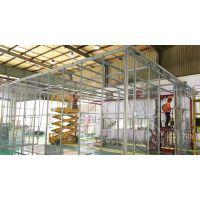 定做铝型材设备安全围栏护栏松江车间工厂隔断报价优