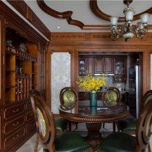 长沙原木整木家具品质、原木橱柜、餐边柜订做上门测量