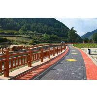 广东仿木栏杆项目价格,惠州厂家水泥仿木护栏制作火热