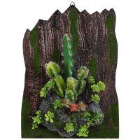 新品立体仿真植物墙上装饰品餐厅墙壁挂件创意客厅店铺墙面挂饰