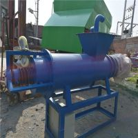 高效不锈钢粪便干湿分离机 经济环保加长版脱水机