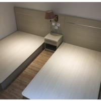定制快捷宾馆床公寓连锁酒店单间标间客房颗粒板家具旅馆床头靠板